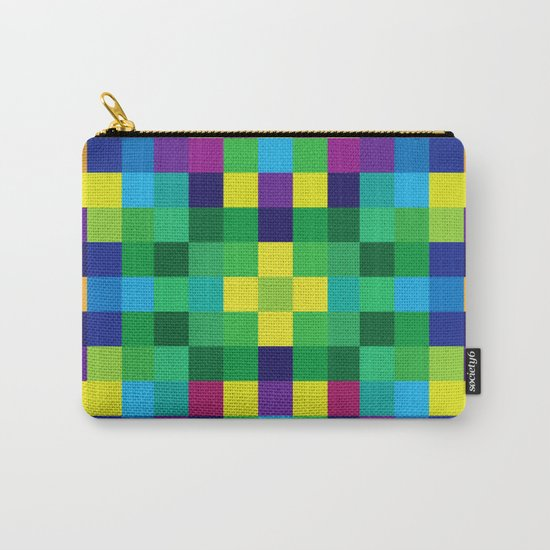 Colorful Geometric Background II Carry-All Pouch