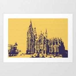 Cologne Cathedral Koelner Dom Art Print