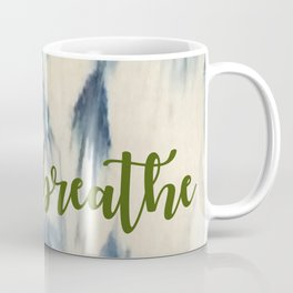Breathe Indigo Coffee Mug