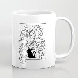 Magic Monstera Coffee Mug