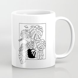 Magic Monstera Coffee Mug