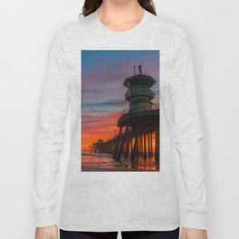 Fading Fire Long Sleeve T-shirt