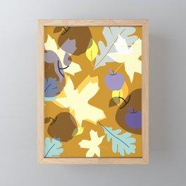 Fall Earth Tones Framed Mini Art Print