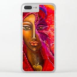 Luna Etereo Clear iPhone Case