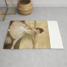 "Edgar Degas ""The Dance Lesson"" Rug"