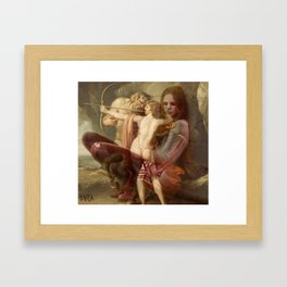 'WOUNDED HEALER' by LVCA  Framed Art Print
