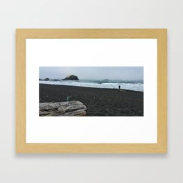 The Old Man and the Ocean Framed Art Print