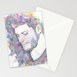 Jensen Ackles - Watercolor Stationery Cards