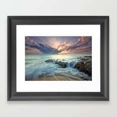 Swept Framed Art Print