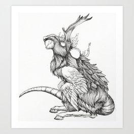 The Rat God Art Print