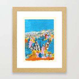 casita nwH Framed Art Print