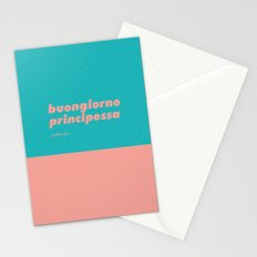 Buongiorno principessa Stationery Cards