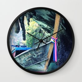 Longboat Wall Clock