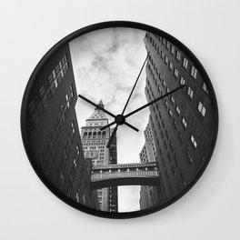 New York Clock Tower Wall Clock