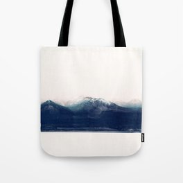 the blue mountain Tote Bag