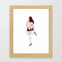Sailor Mars Framed Art Print