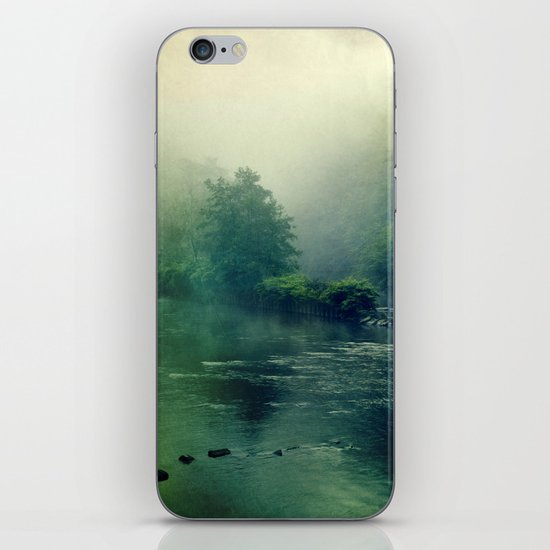 at the river iPhone Skin