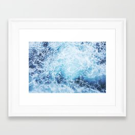 Foamy Framed Art Print
