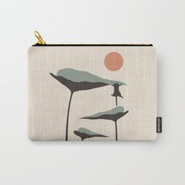 Cat and Plant 30 Carry-All Pouch