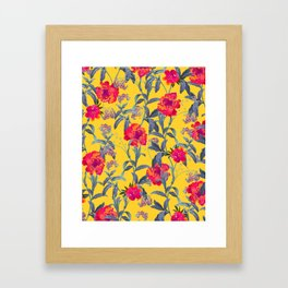 Come Into Blossom #society6 #decor #buyart Framed Art Print