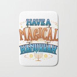Hanukkah Magic Have a Magical Hanukkah Bath Mat