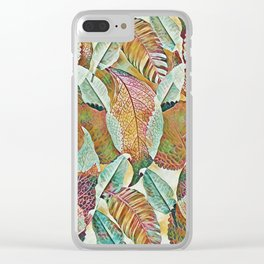 Fall-ing Clear iPhone Case