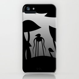 The mysterious forest iPhone Case