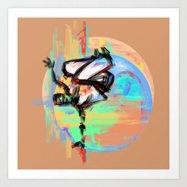 Capoeira 543 Art Print