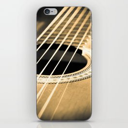 On A String iPhone Skin