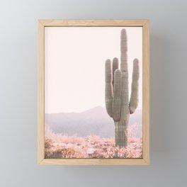 Vintage Cactus Framed Mini Art Print