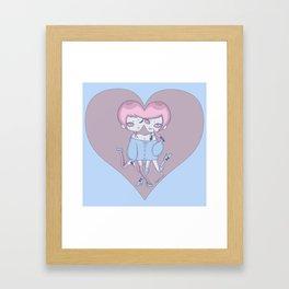 Twinheart Framed Art Print