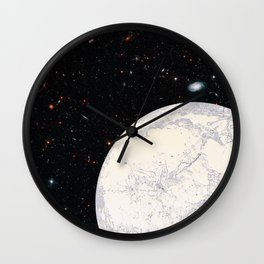 Moon machinations Wall Clock