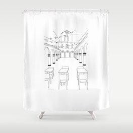 HanaHaus in Palo Alto Shower Curtain