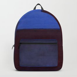 No.61 Rust and Blue 1953 by Mark Rothko Backpack