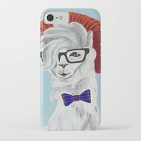 alpaca iPhone & iPod Cases featuring ALPACA by BMAN0212