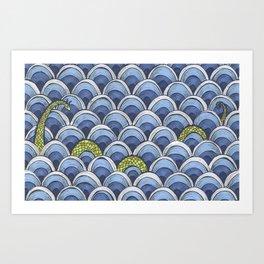 Shy Ness Art Print