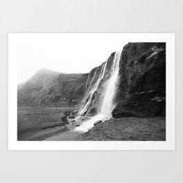 Alamere Falls, Point Reyes, California - 35mm film Art Print