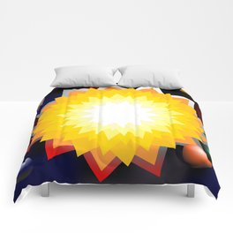 summer sun with planet Comforters