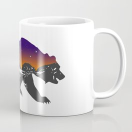 Grizzly at Sunset DX | Animal Series | DopeyArt Coffee Mug