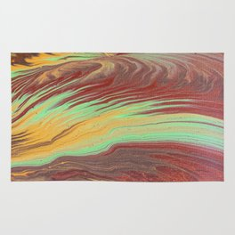 The Flow of Wood Rug