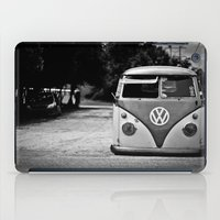 vw bus iPad Cases featuring VW bus portrait  by Aaron Joslin Photography