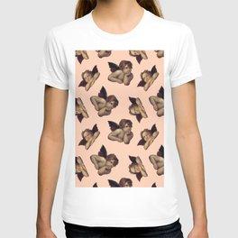 Classical Cherub Toss in Peach Fresco T-shirt
