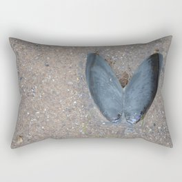 Open Mussel Rectangular Pillow