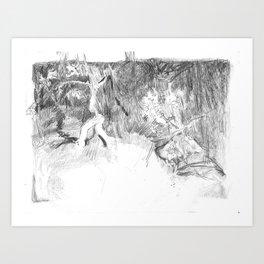 Seven Children Art Print