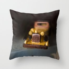 Vintage Auto Throw Pillow