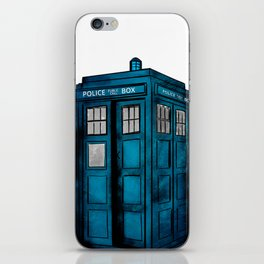 Tardis iPhone Skin