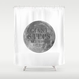 Giant steps | W&L003 Shower Curtain