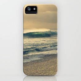 Waves of Light iPhone Case
