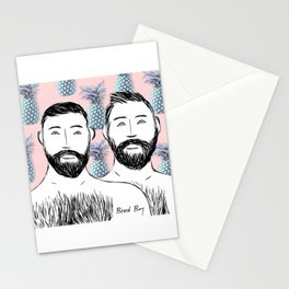 Beard Boys: Manu & Dani Stationery Cards