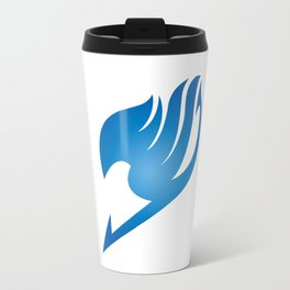 Fairy Tail Blue Logo Travel Mug
